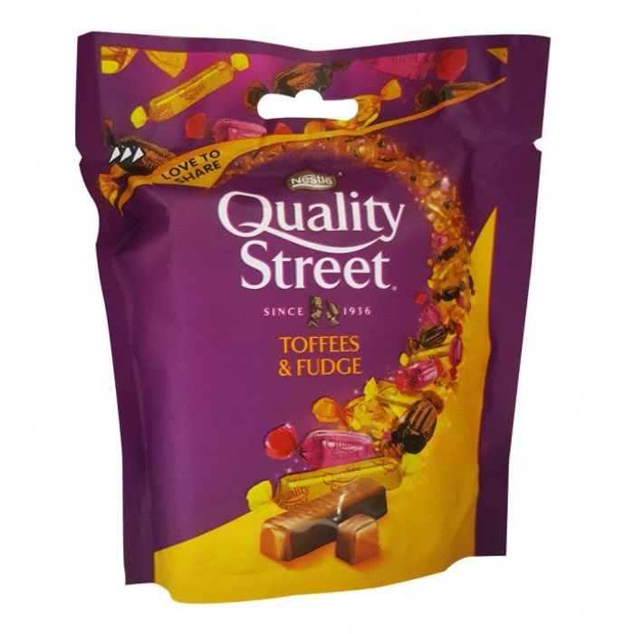 Quality Street Toffee & Fudge Pouch 93g