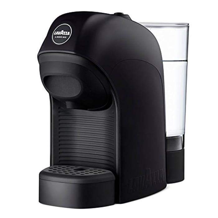 Lavazza a Modo Mio Tiny Coffee Machine, 1450 W, 0,75 Liters, Black
