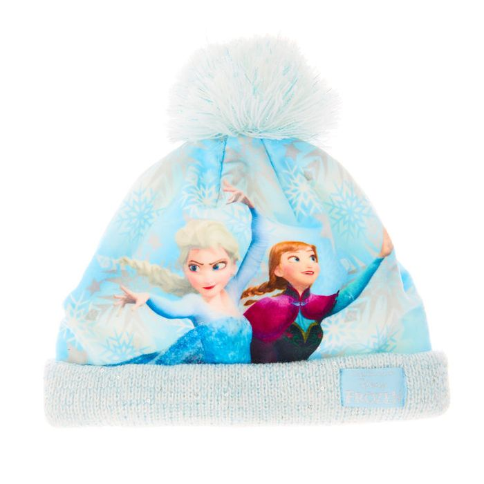 Cheap Disney Frozen Sequin Beanie Hat - Save £8