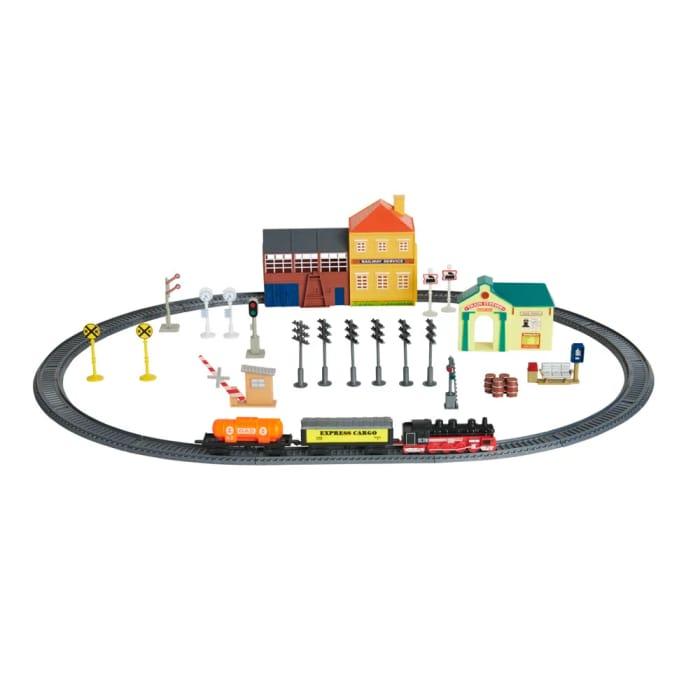 Cheap Wilko Train Play Set 40pcs - Save £1!