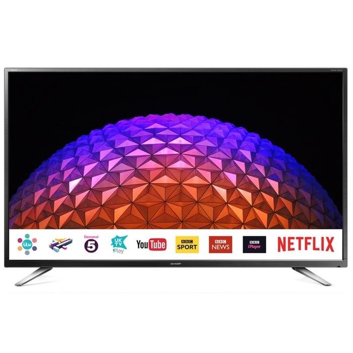 "Sharp LC-32CHG6021KF 32"" HD Ready LED Smart TV"