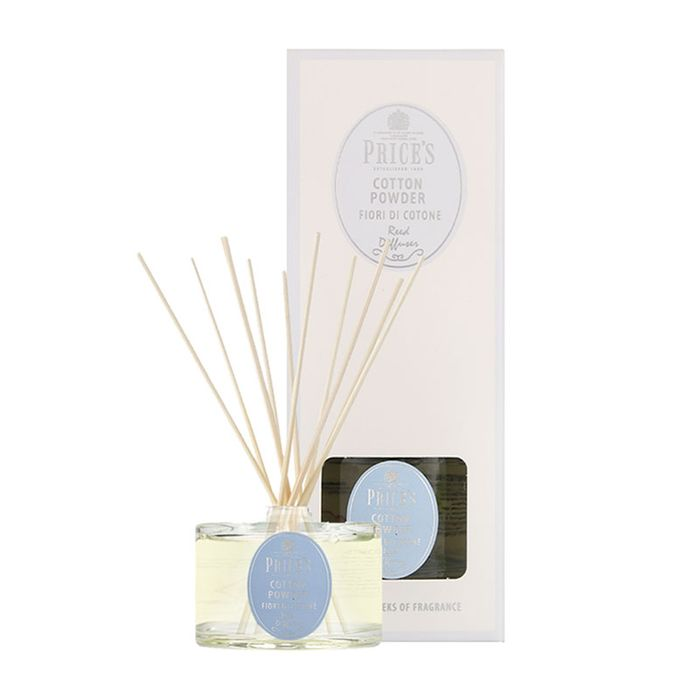 Price's Elegance Cotton Powder Reed Diffuser 250ml