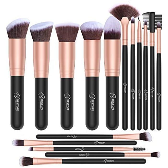 BESTOPE Makeup Brush Set Professional 16-Piece
