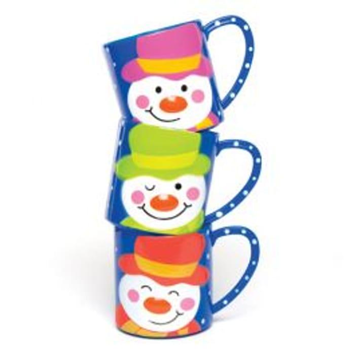 Jolly Snowman Mugs - Save 40%