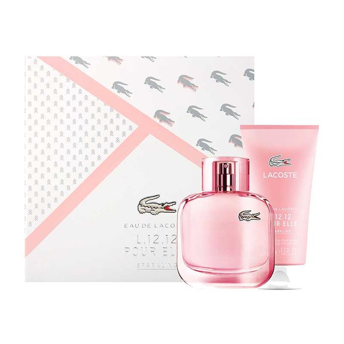 Cheap Lacoste L.12.12 Pour Elle Sparkling Gift Set 90ml - Save £42.01