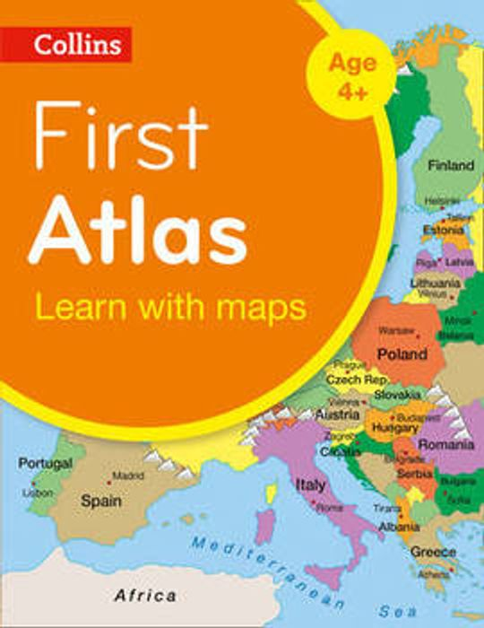 Collins First Atlas (Paperback)
