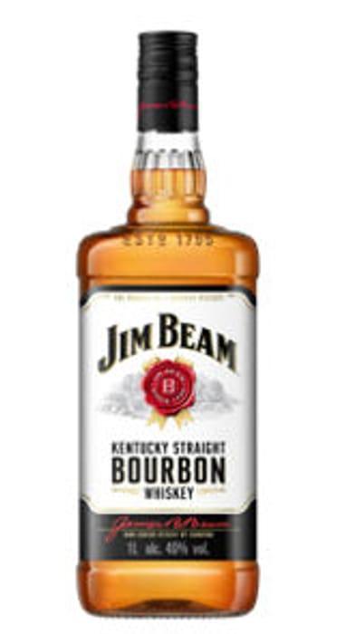 1 Litre Jim Beam Kentucky Straight Bourbon Whiskey £18 at Asda
