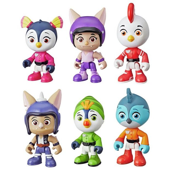 Top Wing 6 Character Collection Pack HALF PRICE