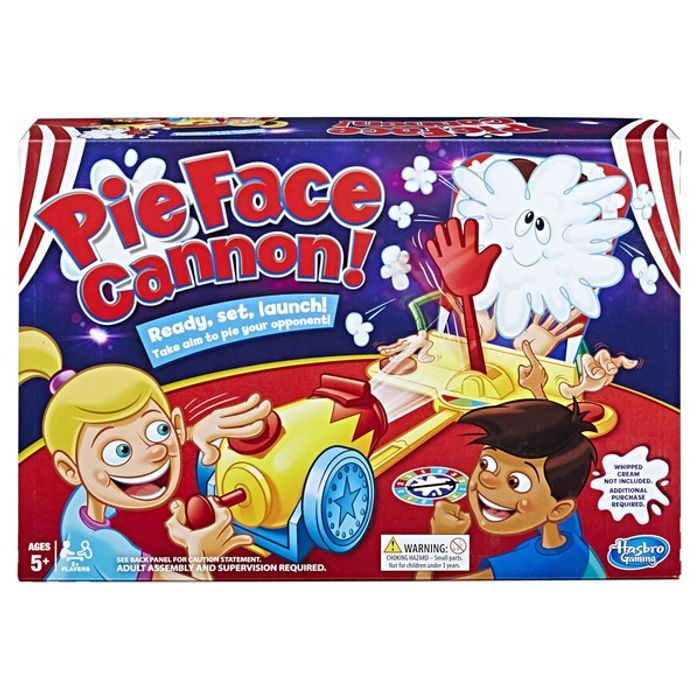 Pie Face Cannon Game at Smyths Toys Superstores - Only £4.99!
