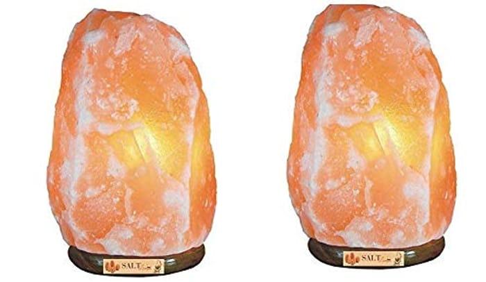 Salt Lamps Pack of 2 8-10KG - Only £25.49 Delivered