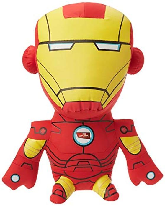 "Marvel 15"" Talking Plush Iron-Man £6"