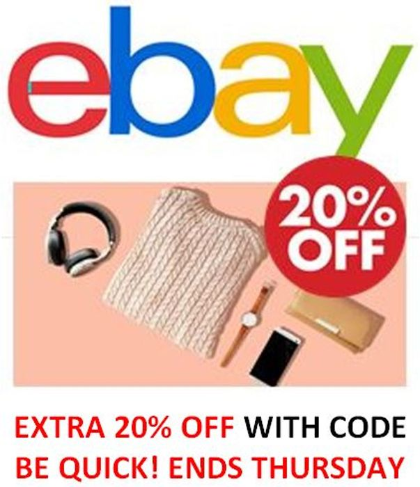 EXTRA 20% OFF CODE FOR YOUR USE
