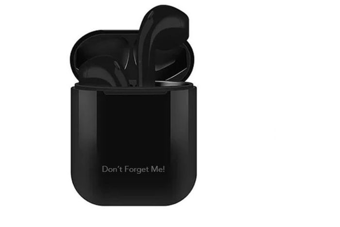 Personalised Apple Compatible Wireless Earbuds & Laser Engraved Charge Case