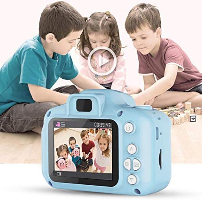Kids Rechargeable Shockproof Digital Video Camcorder