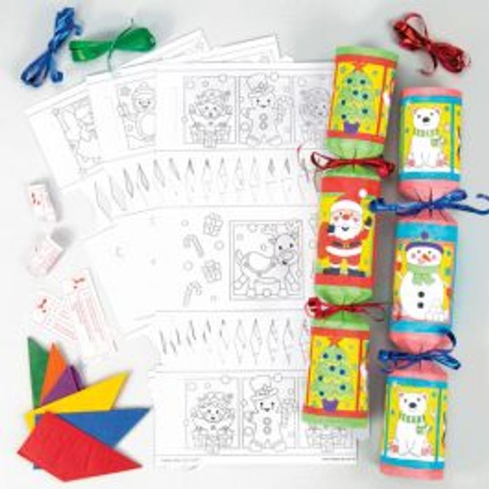 Colour Your Own! Christmas Cracker Kits - 40% Off!