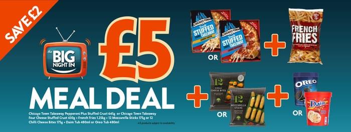 Heron Foods £5 Meal Deal