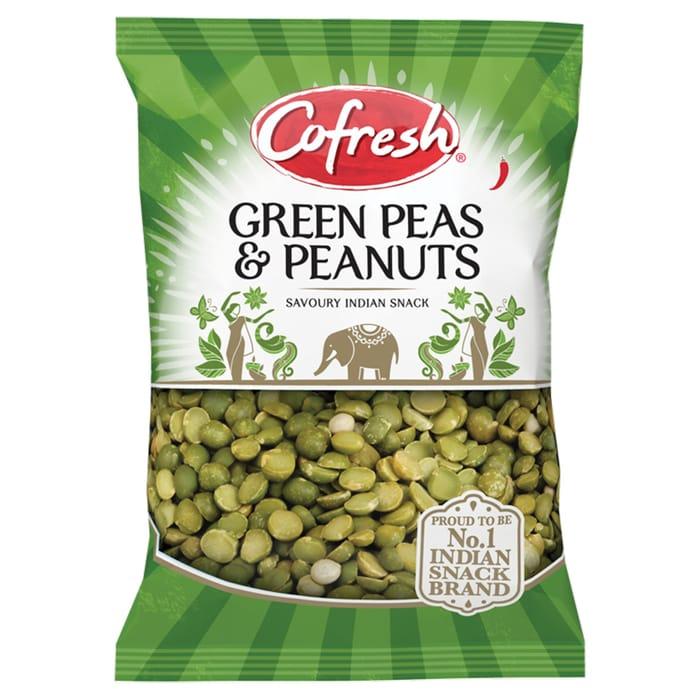 Cofresh Spicy Green Peas & Peanuts 325G - Save £0.25!