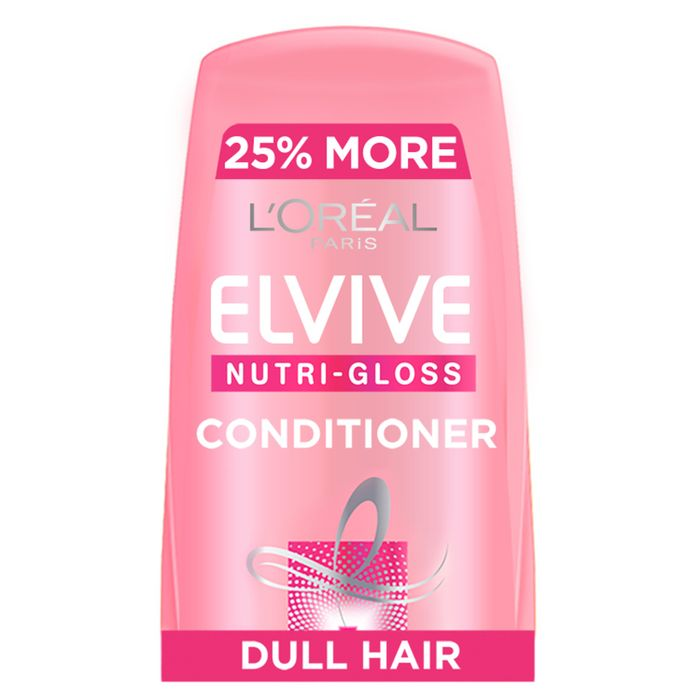 Cheap L'oreal Elvive Nutri-Gloss Shine Hair Conditioner 500ml with 50% Discount!