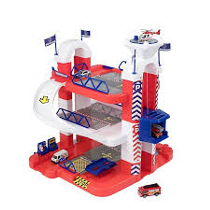 Adventure Force 3 Storey Garage with 5 Diecast Cars on Sale From £30 to £20