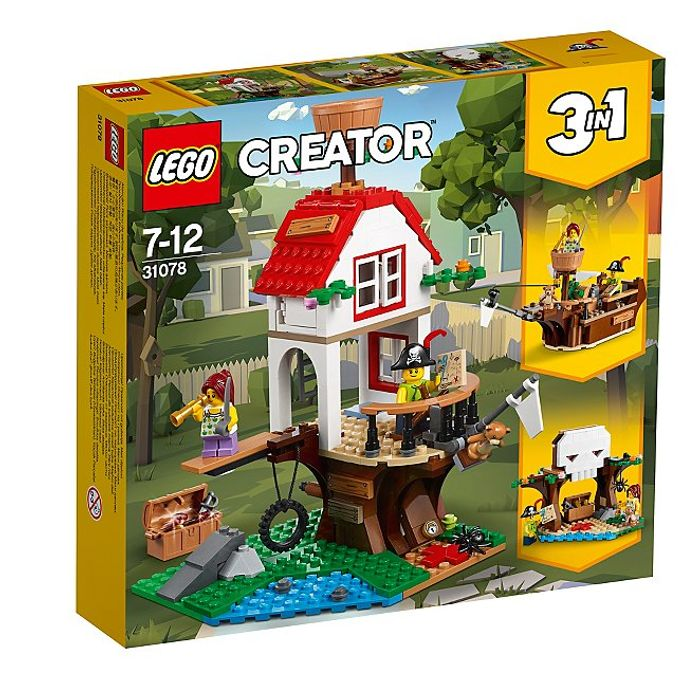 LEGO 31078 Treehouse 3in1 Building Toy - Save £9.97!