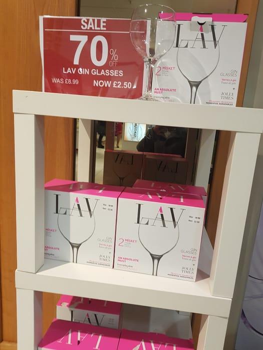Lav Gin Glasses Pack of 2