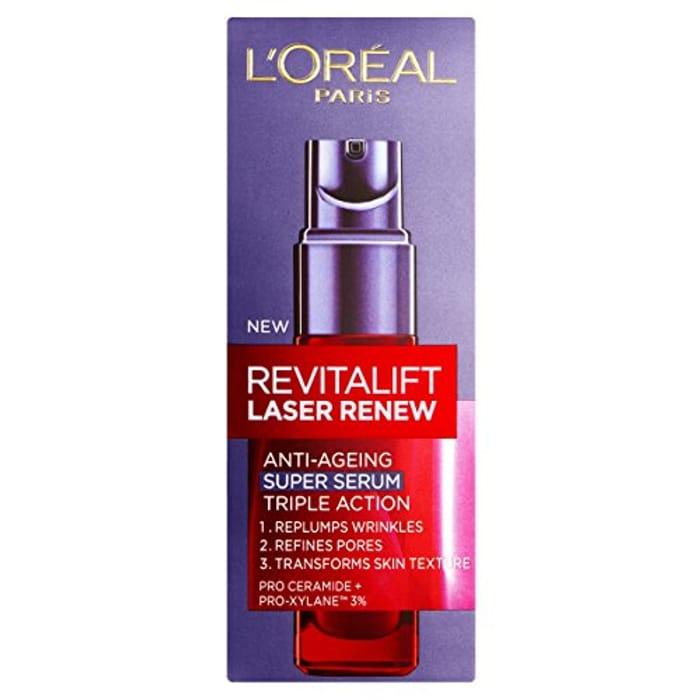 LOreal Paris Revitalift Laser Renew Anti-Ageing Pro-Xylane Serum 30ml -