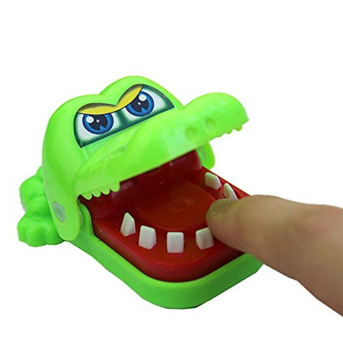 Crocodile Bite Finger Game Keyring