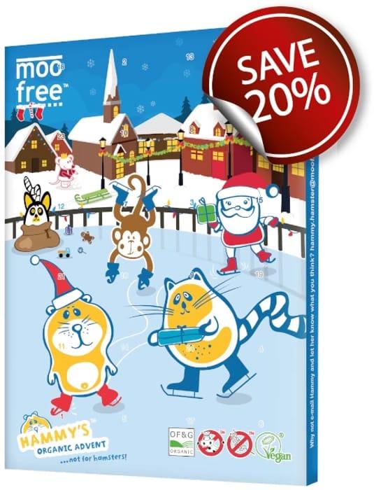 20% off Moo Free Advent Calendars ( Vegan,dairy Free Chocolate)