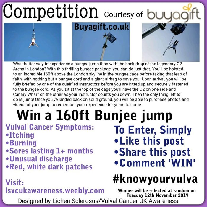 Win a Gift Voucher Courtesy of Buy a Gift for a Bunjee Jump!