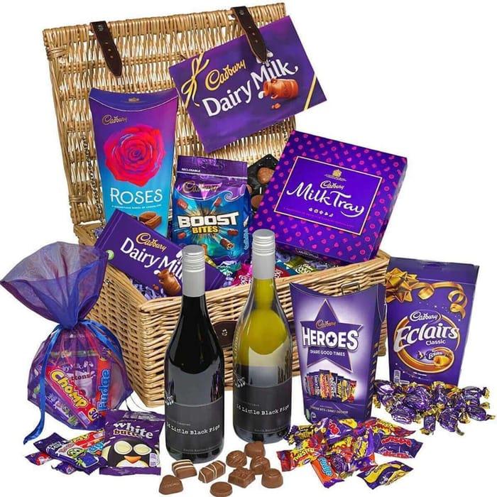 Win a Fabulous Chocolate & Wine Filled Hamper!