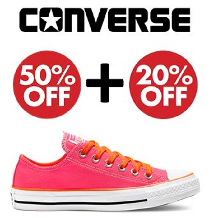 Converse Sale - 50% OFF + EXTRA 20% OFF CODE