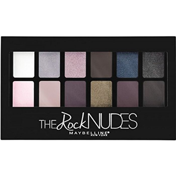 Maybelline Rock Nudes Palette (The price does fluctuate)