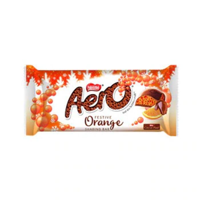 Mmmmmm Aero Orange Festive Block 100g