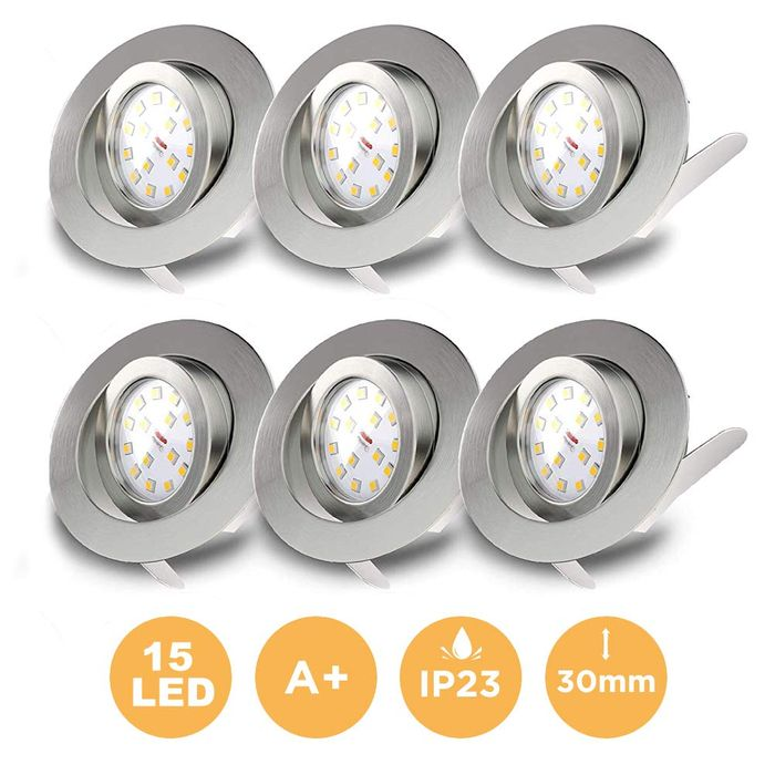 Deal Stack - LED Recessed Ceiling Lights - 40% off + Extra 6%