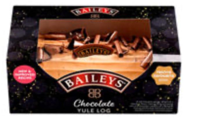 Baileys Chocolate Yule Log Serves 8 Just £5