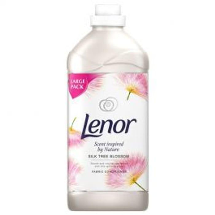 Lenor *52 Wash Silk Tree Blossom Fabric Conditioner