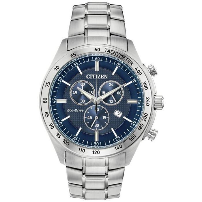 Citizen Men's Eco-Drive Stainless Steel Bracelet Watch - HALF PRICE!