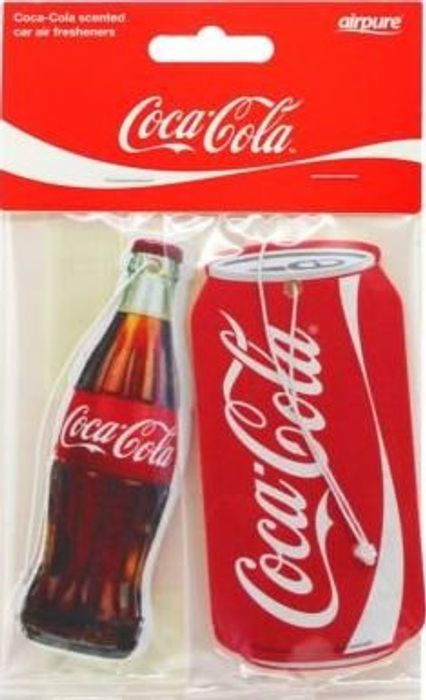 Coca Cola Car Air Freshener 2 Pack Only £1.84 plus Free Delivery