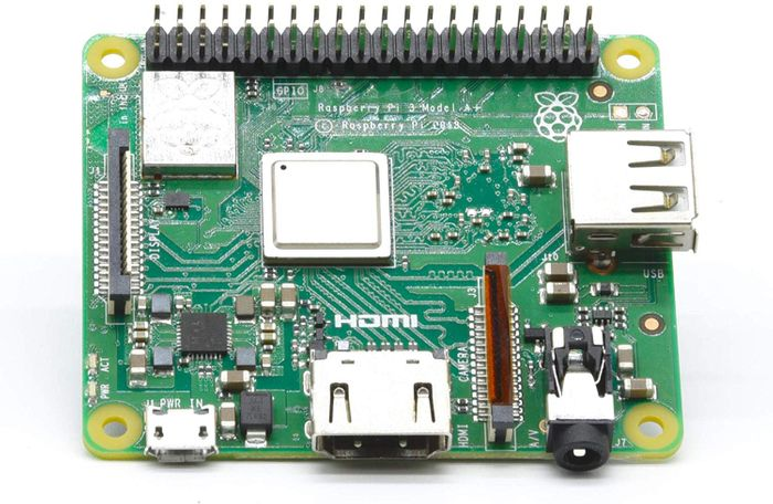 RASPBERRY PI Base Plate 3 Model A+, Cortex to 1.4 GHZ, WiFi 5 GHz