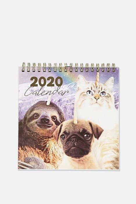 2020 Get a Date Flip Desk Calendar