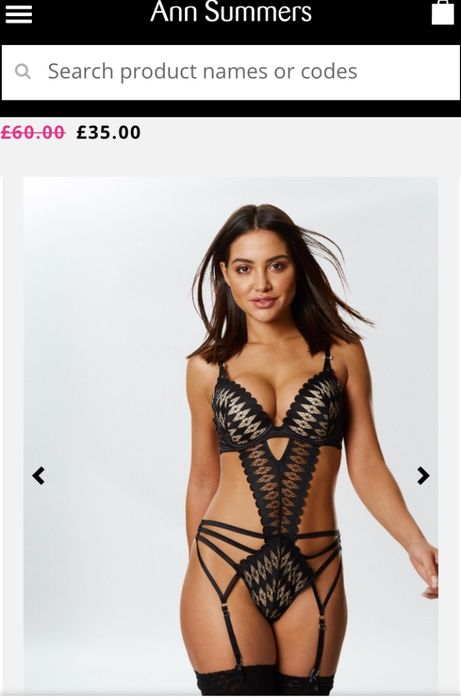 Reya Body Sexy Lingerie