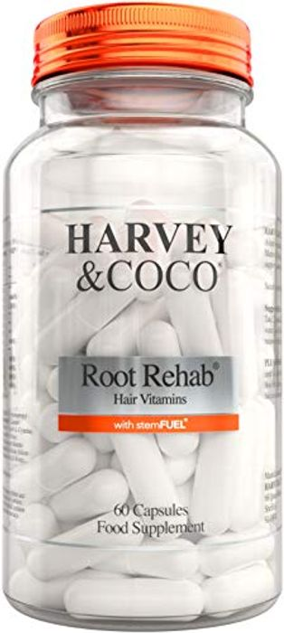 Hair Growth Vitamins Root Rehab with stemFUEL Biotin and Collagen - 64% Off!