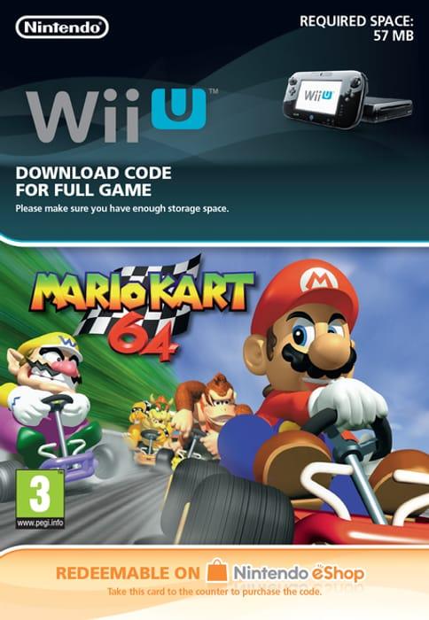 Wii U DDC Mario Kart 64