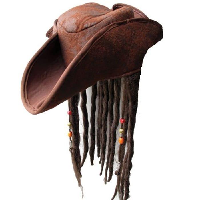 Caribbean Jack Sparrow Fancy Dress Hat