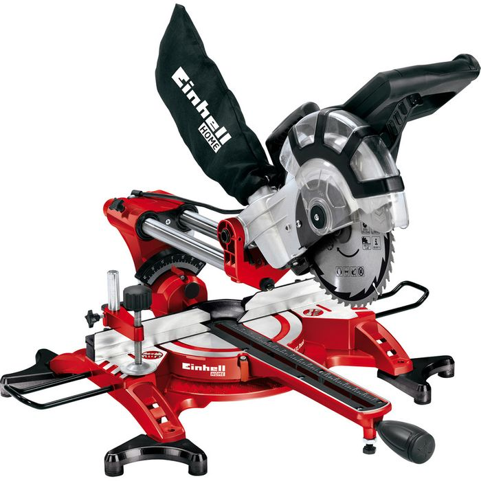 Einhell 210mm Double Bevel Sliding Crosscut Mitre Saw 11%off@ Toolstation