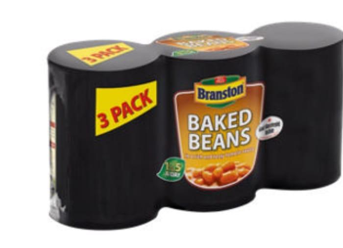 Branston Baked Beans 33%off@ Asda