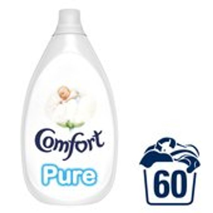 Comfort Intense Pure 60 Washes 900ml Down From £5.49 to £3
