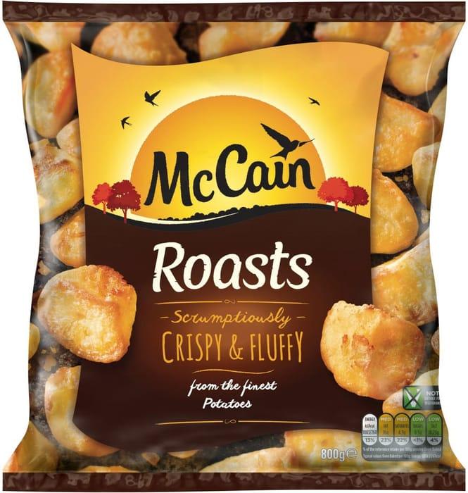 McCain Frozen Roast Potatoes 800g - Better than HALF PRICE!