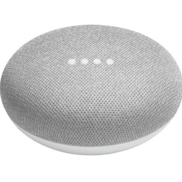Google Home Mini Smart Speaker - Chalk/Charcoal £24.29 Delivered