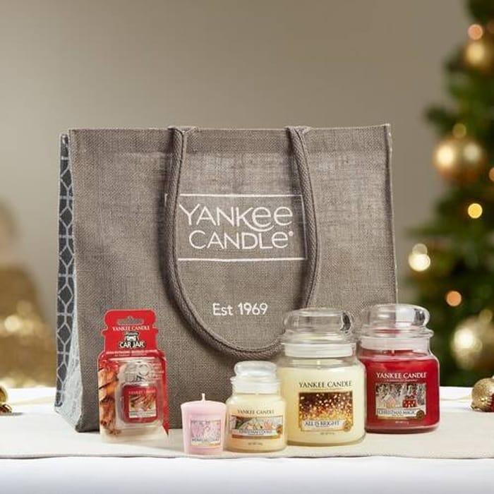 *HALF PRICE* Yankee Candle Festive Goodie Bag Gift Set